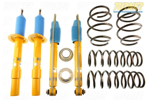 T#21513 - TMS21513 - E60 545i/550i H&R/Bilstein Sport Suspension Package - Turner Motorsport - BMW