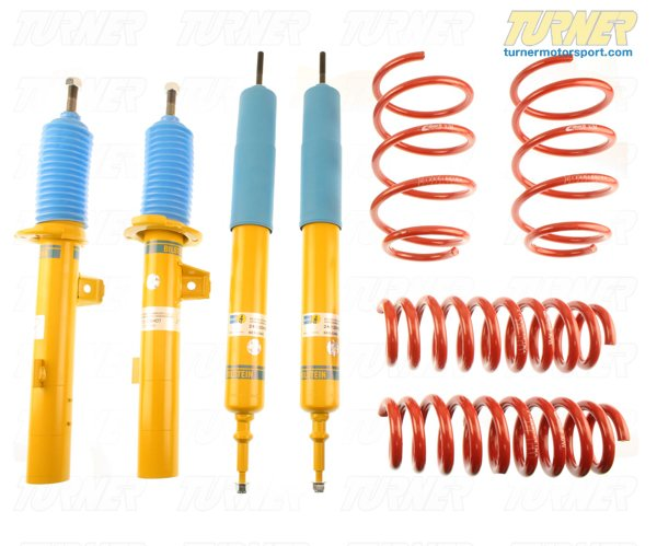 T#22145 - 46-180728 - E90 325i/328i/330i Sedan Bilstein B12 Sportline Sport Suspension Package - Bilstein -