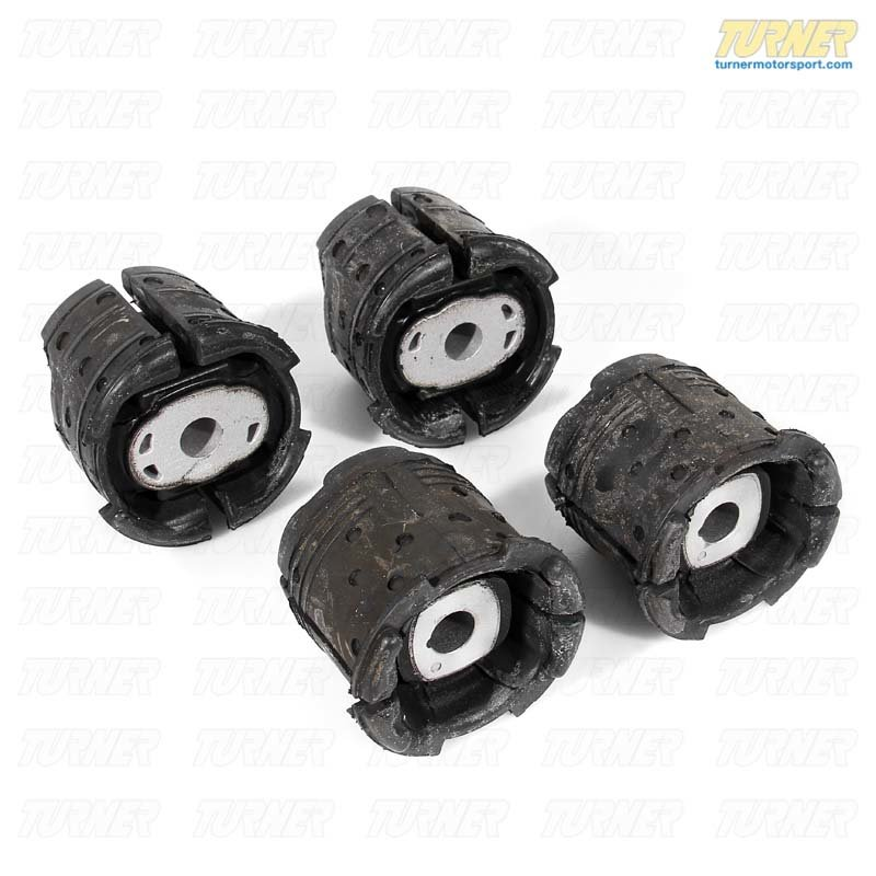 T#12076 - E9X-GPN-SUBFRAME - Rear Subframe Bushings/Mounts - Set - Group N Race Rubber - E82, E9X - Genuine BMW - BMW
