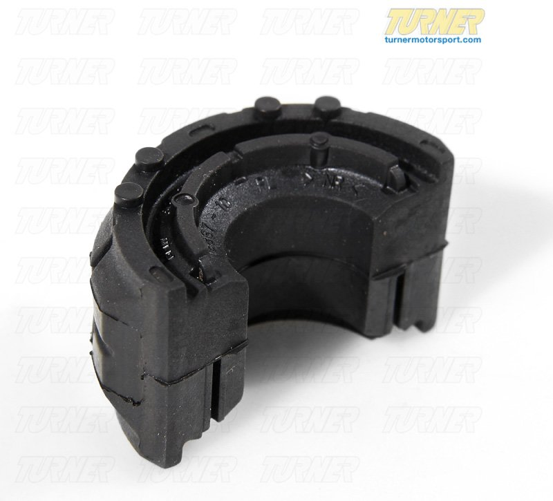 T#15529 - 31352283968 - Front Axle Rubber Bushing, Antiroll Bar 31352283968 - Genuine BMW -