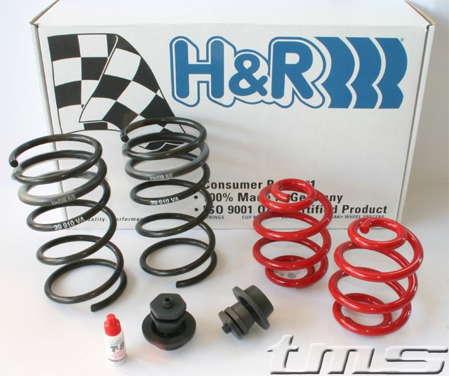 T#105 - 29910-2AR - H&R Adjustable Sport Spring Set - E36 M3 96-99 - H&R - BMW