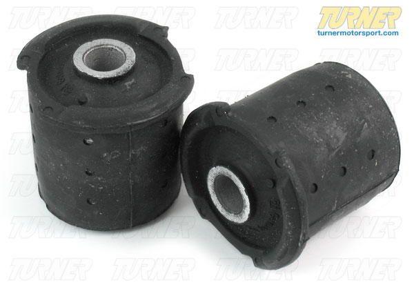 T#1734 - 33319059301 - Rear Subframe Bushings/Mounts - Aft/Rear Pair - E36 M3 (Upgrade for E36 non-M) (Pair) - Genuine BMW -