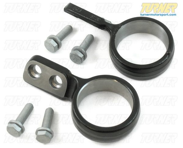 T#1765 - TSU4695PBX - Front Control Arm Bushing Carrier Brackets & Bolts (FCAB) (Pair) - E46 325Xi/330Xi - Turner Motorsport - BMW
