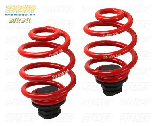 T#11727 - HR92-K-X013AO1 - H&R Rear Ride Height Adjuster/Spring Perch (for 60mm I.D. springs) - E90/E92 3 Series 2006-2012 - H&R - BMW