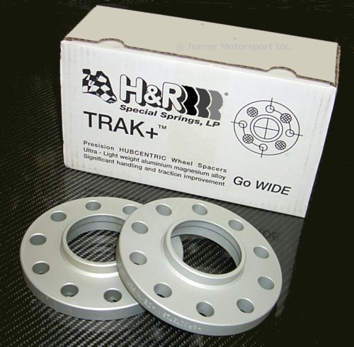 T#2585 - HWH-70-20-B - H&R 20mm Wheel Spacers with Wheel Bolts - BMW E70 X5 (Pair) - H&R - BMW
