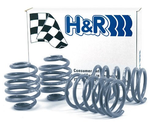T#4342 - 50404-55 - H&R OE Sport Spring Set - E30 - 318is 325e 325i 325is M3 - H&R - BMW