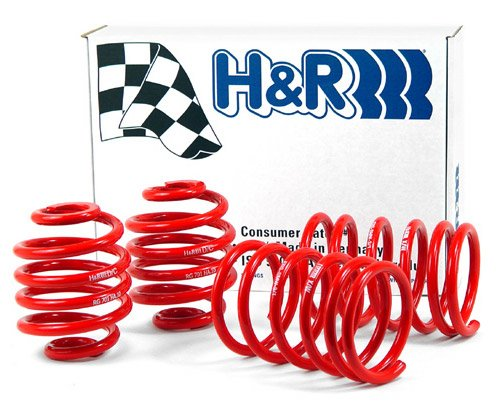 T#4337 - 29666 - H&R Sport Spring Set - E32 750iL - only for cars with self leveling - H&R - BMW