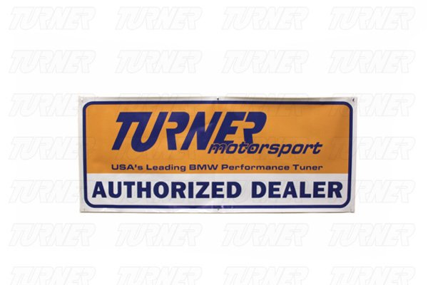 T#2391 - BANNER-DLR - Turner Motorsport Dealer Banner - Turner Motorsport -