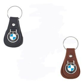 T#5270 - 80230408542 - Genuine BMW Teardrop Leather Key Ring  - Genuine BMW -