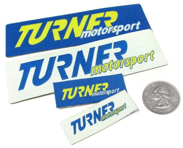 T#359303 - PATCH4502 - Turner Motorsport Iron-on Patches - Turner Motorsport - BMW MINI