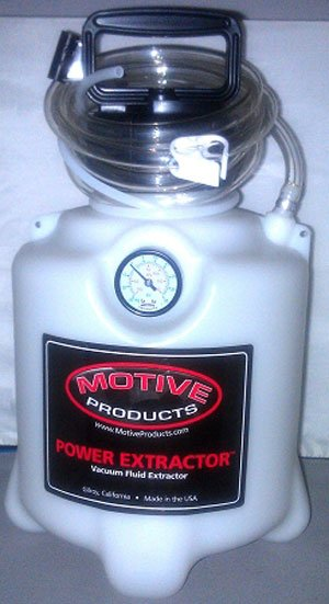T#5804 - MOT-1715 - Motive Power Fluid Extractor for Engine, Transmission & Differential Fluids - Motive -