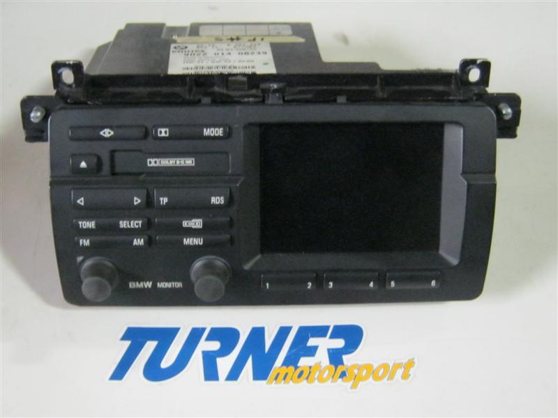 T#5778 - UELE10053 - E46 On Board Monitor, Radio With Cassette (USED) - Genuine BMW -