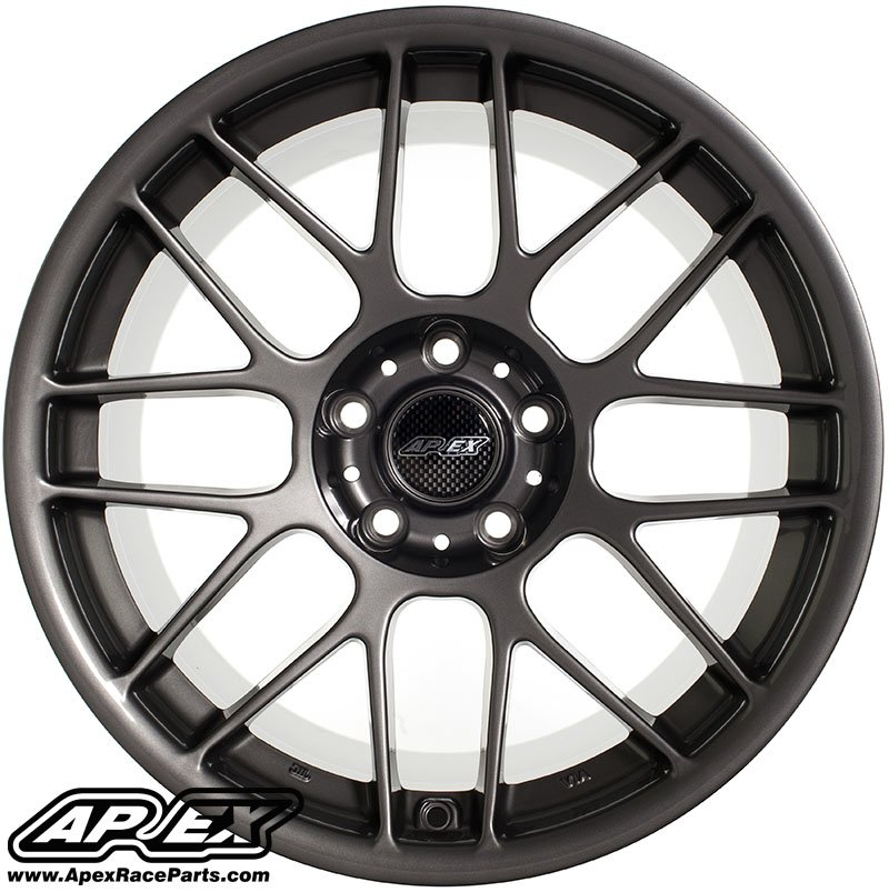 "T#180789 - ARC81710ET25AN - APEX ARC-8 17x10"" ET25 Anthracite Concave Wheel 18.10lbs - APEX Wheels - BMW"