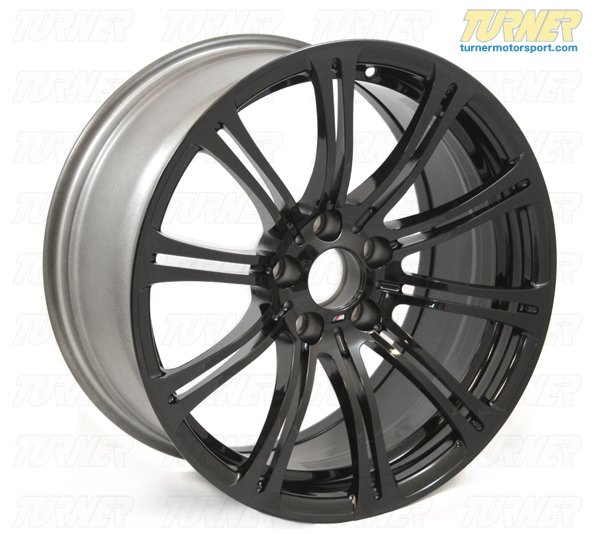 "T#2963 - TMS2963 - E9X M3 19"" BMW Style 220 Jet Black Wheel Set (Genuine BMW) - Genuine BMW - BMW"