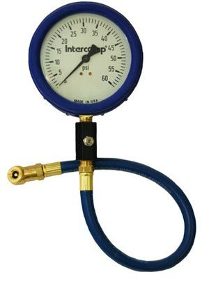 T#3193 - 360060 - Intercomp 4 inch Glow in the Dark Tire Pressure Gauge 0-60psi - Turner Motorsport - BMW MINI