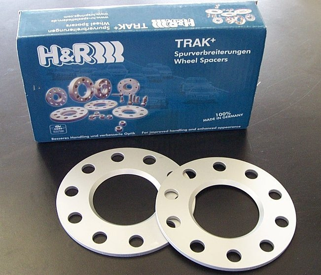 T#1941 - HWH-70-5-B - H&R 5mm Wheel Spacers with Wheel Bolts - BMW E70 X5, E71 X6 (Pair) - H&R - BMW