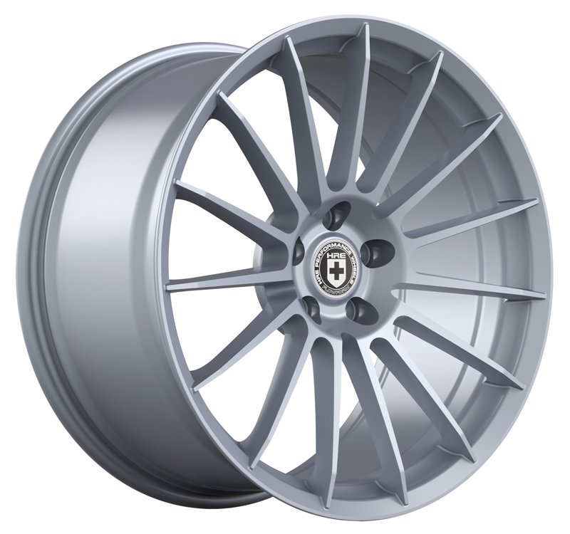"T#224315 - E46-HRE-FF15-19- - E46 325i/328i/330i HRE FF15 19"" Mild Staggered Wheel Set - Liquid Silver - HRE -"