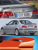 BMW E46 M3 Rear Spoilers, Rear Wings, & Aprons