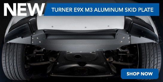 TMS New E9X Skid Plate