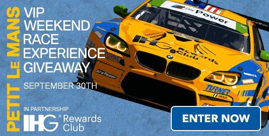 IHG® Rewards Club Race Experience