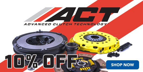 10% Off ACT Clutches
