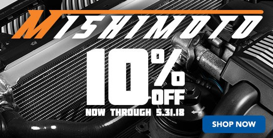 TMS - 10% Off MISHIMOTO Performance Cooling Products