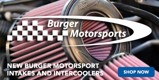 TMS - New Burger Motorsport Intakes & Intercoolers
