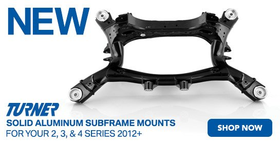 New TMS Solid Aluminum Subframe Mount Kit