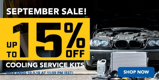 TMS - Up to 15% Off Packaged By Turner Cooling Kits