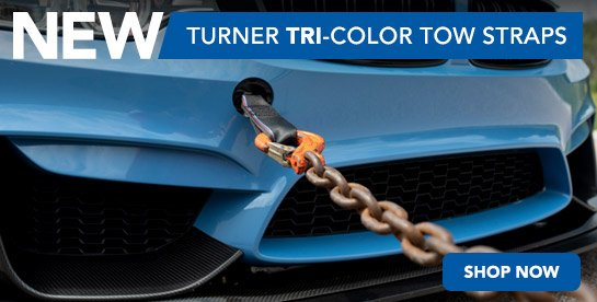 TMS - New Turner Tow Straps