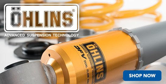 Now Offering Ohlins Coilover Setups