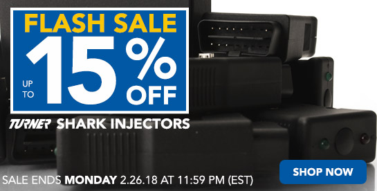 TMS - Flash Sale 15% Off Shark Injectors