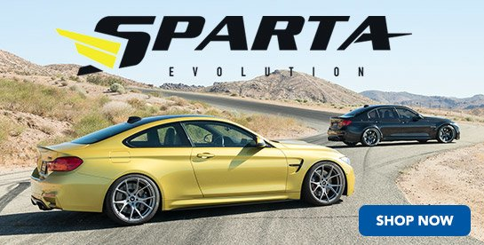Now Offering - Sparta Evolution Big Brake Kits
