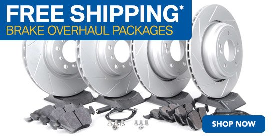 TMS Summer Promo Brake Overhaul Packages