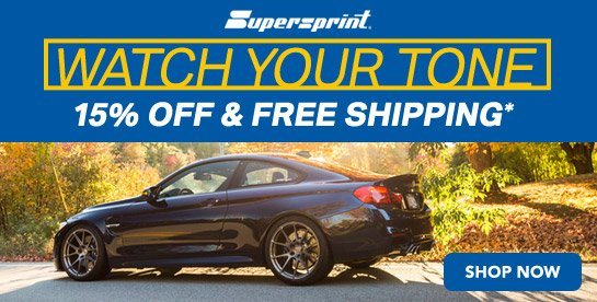 Turner Superspring 15% & Free Shipping Promo