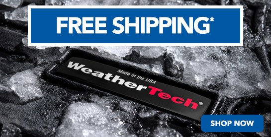 TMS Free Shipping on WeatherTech